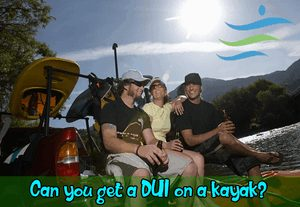 Can you get a DUI on a kayak