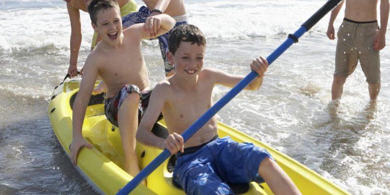 social kayaking